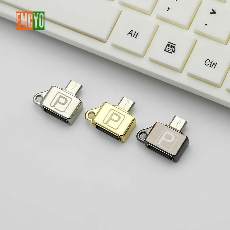 Image 3 - Otg Android Micro Mobile Phone Tablet U Disk Connection Usb Card Reader Light Hanging Chain Adapter-in Card Readers from Computer & Office