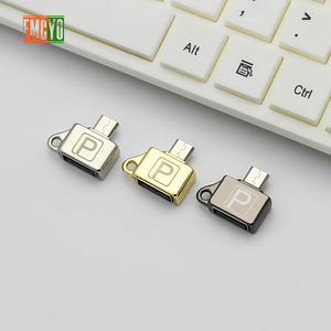 Image 3 - Otg Android Micro Mobile Phone Tablet U Disk Connection Usb Card Reader Light Hanging Chain Adapter