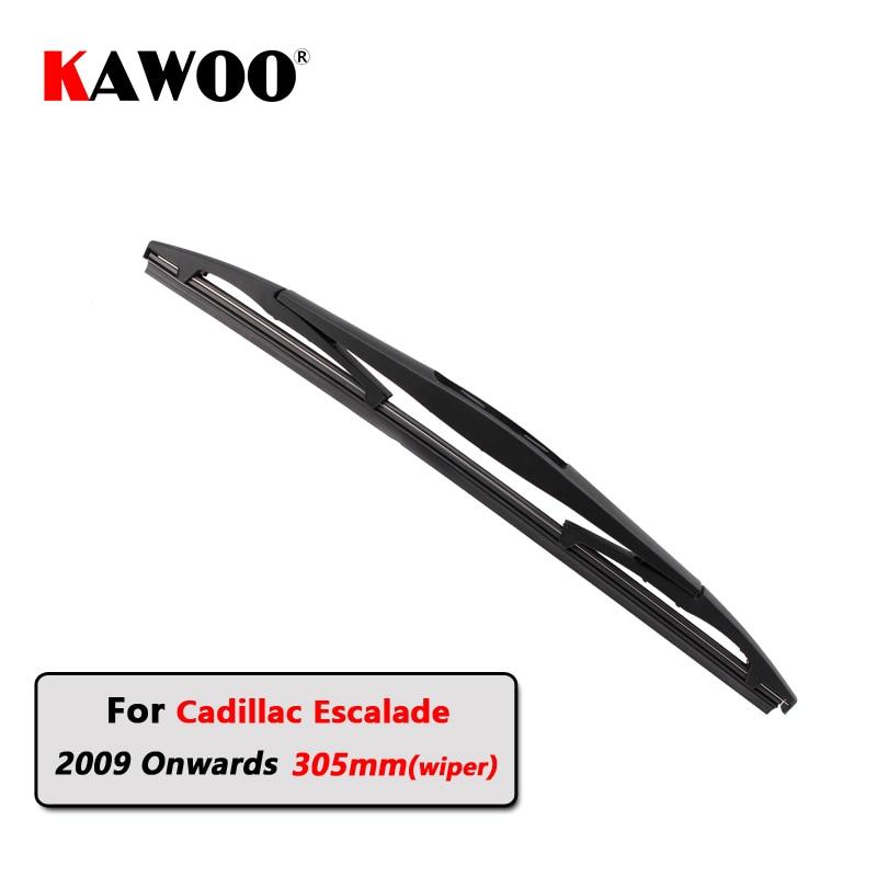KAWOO Car Rear Wiper Blades Back Window Wipers Arm For Cadillac Escalade Hatchback (2009 Onwards) 305mm Auto Windscreen Blade