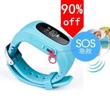 Smartphone Kinder Kid Smartwrist GSM GPRS GPS Locator Tracker Anti-verlorene Smartwatch Kind Schutz für iOS Android