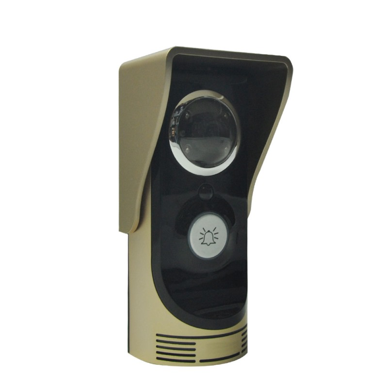 Wireless WiFi Remote Video Camera Door Phone Doorbell Intercom (gold) Monitor Home Security Doorbell FULI bw wireless wifi door