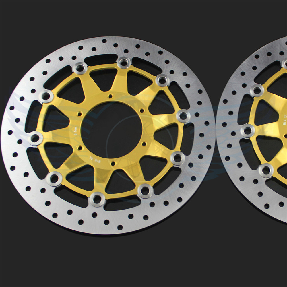 high quality Motorcycle accessories front Brake Disc Rotor For Honda CBR1000RR 2006 2007 2008 2009 2010 2011 2012 arashi motorcycle radiator grille protective cover grill guard protector for 2008 2009 2010 2011 honda cbr1000rr cbr 1000 rr