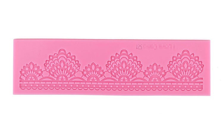 ANGRLY Bake Tool Factory Shop Lace Design Cake Silicone Mold for Cake Decorating Tool Egg Tart Mold Tarte Cosmetics Candy Box