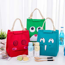 Cute Waterproof Oxford Lunch Bag Portable Insulated Thermal Cooler Lunch Bag For Girls Student Lunch Box Picnic Case Storage Bag цена 2017
