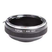 Bague adaptateur dobjectif FOTGA pour Canon EF/EFs vers Olympus Panasonic Micro 4/3 m4/3 adaptateur E P1 G1 GF1