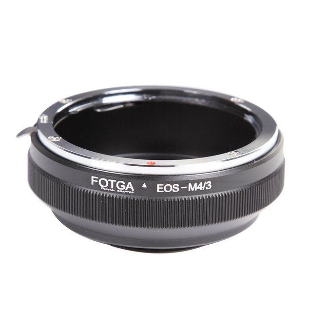 FOTGA Lens adaptörü halka Canon EF/EFs Olympus Panasonic mikro 4/3 m4/3 adaptör E P1 G1 GF1