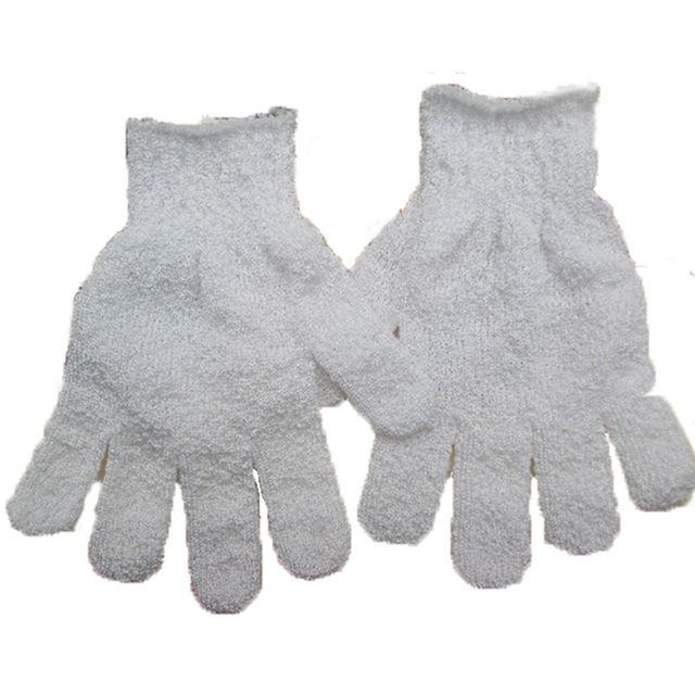 1pc Shower Bath Gloves Exfoliating Wash Skin Spa Massage Scrub Body Scrubber Glove 4