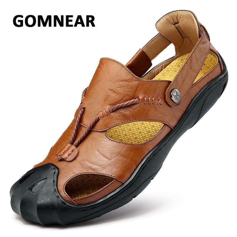 Gomnear Summer Sandals For Men Big Size 38 46 Breathable