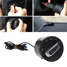 цена на Auto Head light Sensor And Original  Headlight Switch For VW Golf 5 6 MK5 MK6 Tiguan Car Interior Electronics Relays
