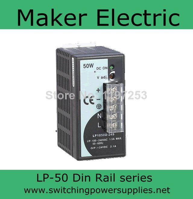 high quality din rail power supply without  the function of measuring 5V 50W LP-50-5 8A 50W supply chain network design including the cost of quality