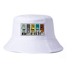 Anime rick morty hat Cool TV bone Men bucket hats Couple Geek BoJack Horseman Unisex fisherman panama women