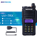 Walkie Talkie Professional Waterproof IP57 UV-7RX VS BAOFENG BF-R760 With SOS FM Radio Station CB Ham +NKTECH Speaker Mic