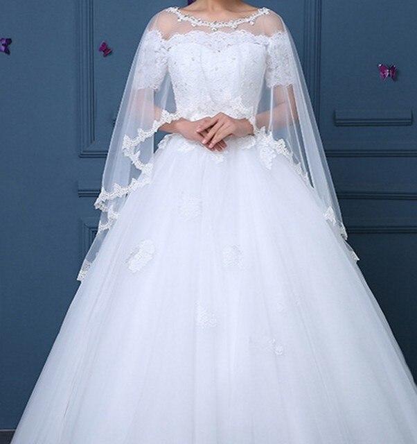 acheter longue veste de mariage bolero doux tulle dentelle perles femmes de. Black Bedroom Furniture Sets. Home Design Ideas