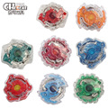 1PCS 8STYLE Beyblade Metal Fusion 4D Set spinning top Battle Metal Fury Masters with Launcher Assembly Classic Toys Gifts