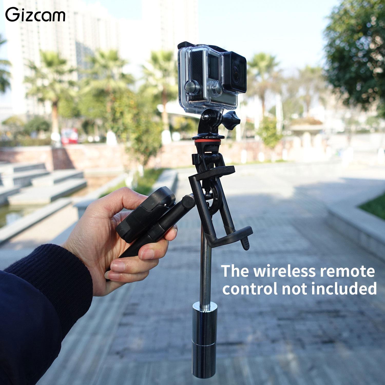 Gizcam Portable Mini Single Handheld Gimbal Camera Stabilizer For ...