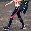 NUEVO 2016 Moda Ropa Sexy Mujeres de Secado rápido de Ropa Deportiva de Verano Leggings Gimnasio Pantalones Activos Y25110