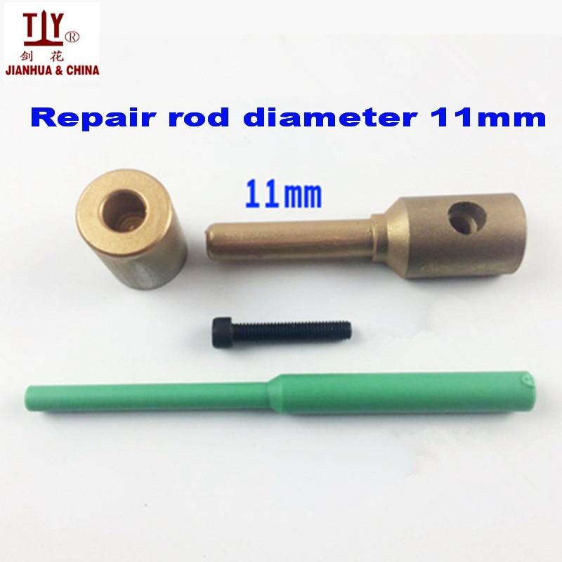 Free Shipping PPR water pipe repair tool, repair leaks and loopholes 11mm plastic pipe welding parts die head, Welding Mold