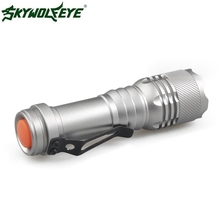 DC 27 Shining Hot Selling Fast Shipping   2000LM CREE Q5 AA/14500 3 Modes ZOOMABLE LED Flashlight Torch Super Bright