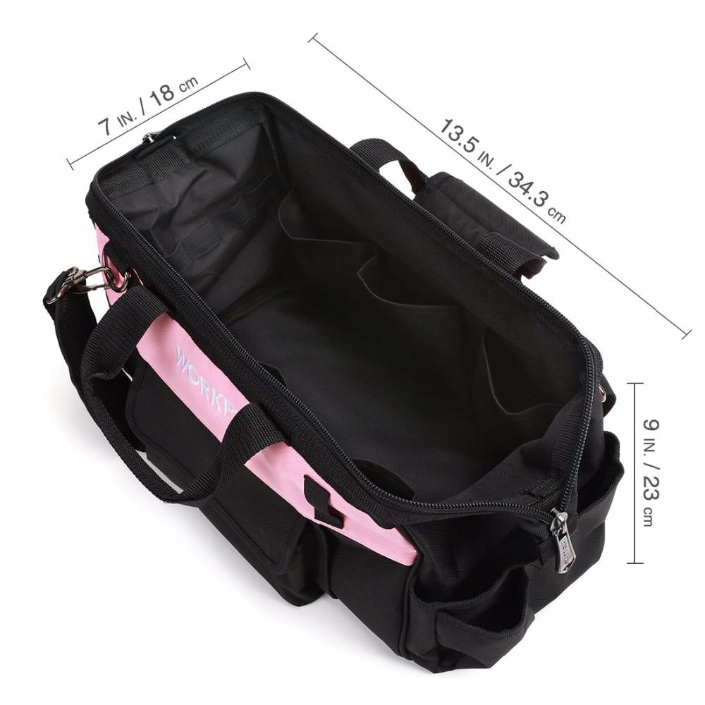 "workpro 16 ""розовая леди сумка ткань"
