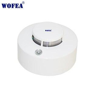Image 1 - Wofea Photoelektrische Rauchmelder Sensor Wired Rauch alarm feuer alarm 12V alarm mit summer und relais ausgang NO/NC