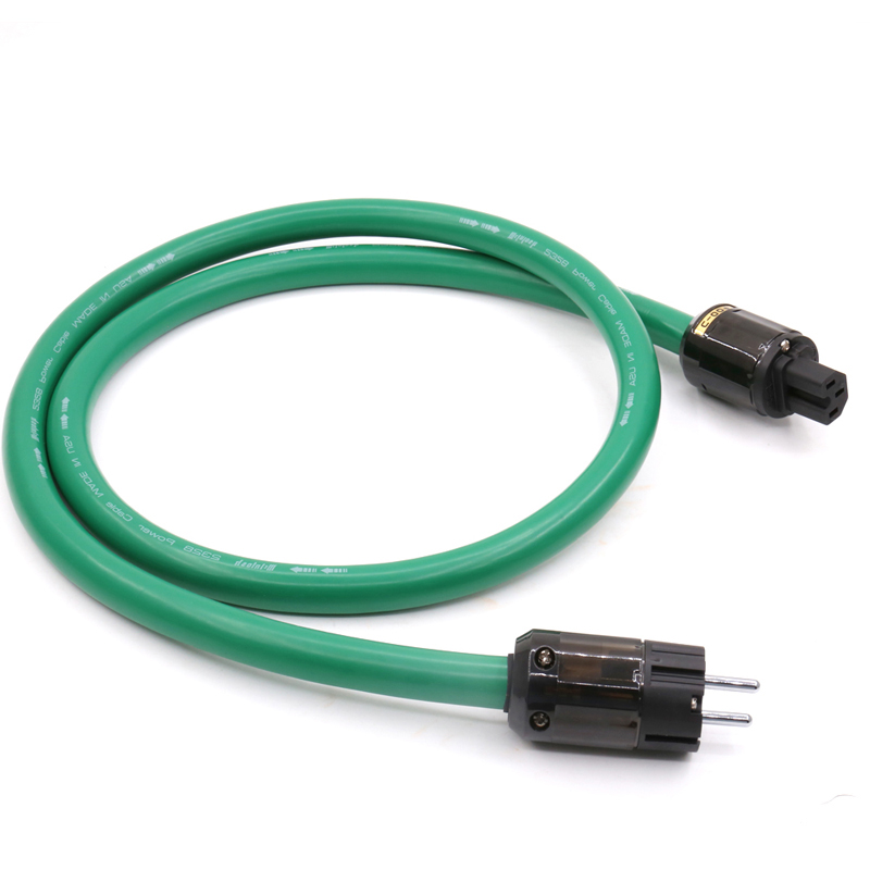Free shipping <font><b>MCINTOSH</b></font> <font><b>2328</b></font> power line HIFI POWER CABLE Power Cord with EU Plug AC cable line image