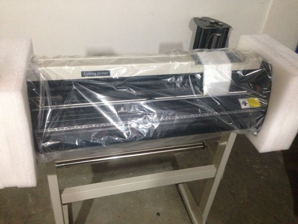 vinyl cutter plotter 720mm with stand and original software