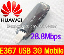 UNLOCKED Huawei E367 HSPA+ 28.8Mbps Fastest USB 3G Mobile Broadband Dongle NEW Data and SMS Stick Free Shipping