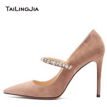 Pointed Toe Women Pumps Big Size 34-46 New Fashion Women Shoes Shiny Pumps High Heels Classic Crystal Stiletto Wedding Shoes подвесной светильник maytoni bellevue p535pl 01pn