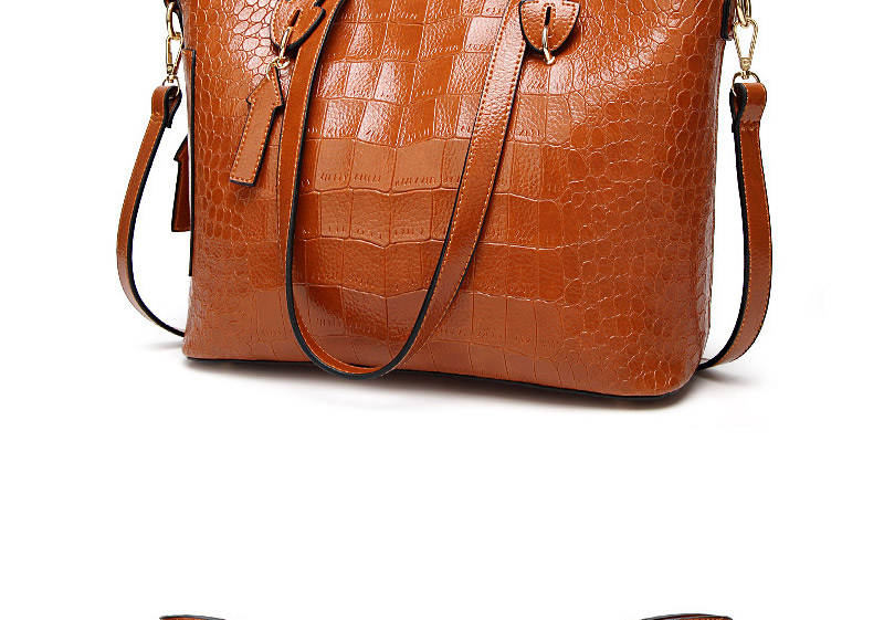 alligator crossbody bag for women shoulder bag female handbag ladies elegant shopping bag_13