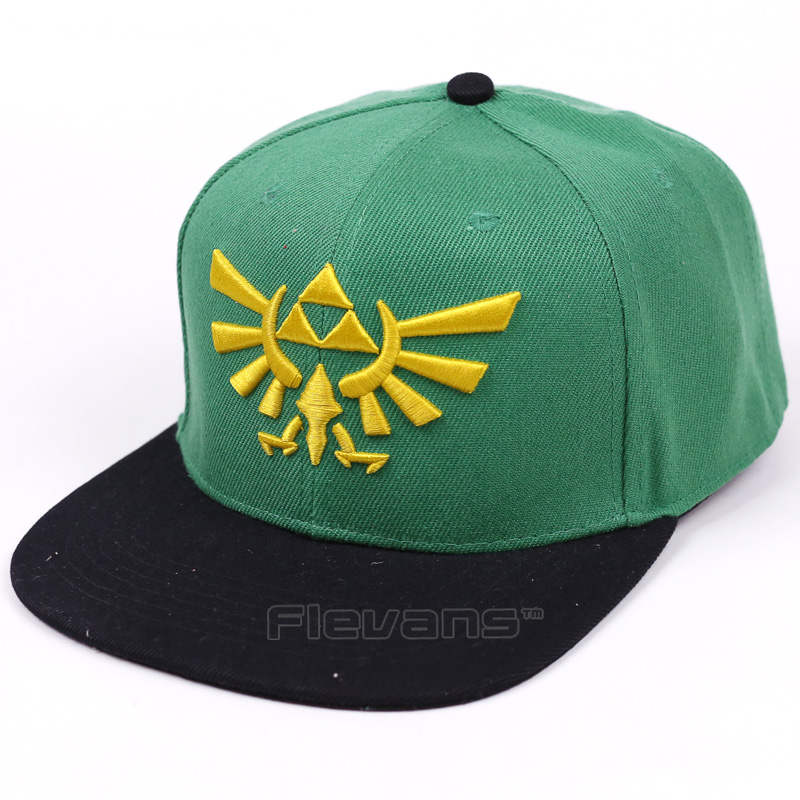 The Legend of Zelda Logo Embroidery Baseball Cap Men Women Snapback Caps Hats Casual Adjustable New Sun Hat Cap cntang brand summer lace hat cotton baseball cap for women breathable mesh girls snapback hip hop fashion female caps adjustable