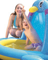 DR.B Baby Preschool Swimming Ring Penguin Animal Shaped Inflatable PenguinsKids Pool Spurts Outdoor Summer Water Toy JL017227NPF