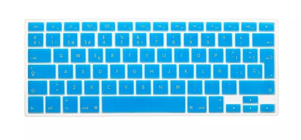 New silicone spanish letter keyboard cover for macbook air pro new silicone spanish letter keyboard cover for macbook air pro retina 13 15 17 protector for mac book keyboard spanish spain eu in keyboard covers from spiritdancerdesigns Images