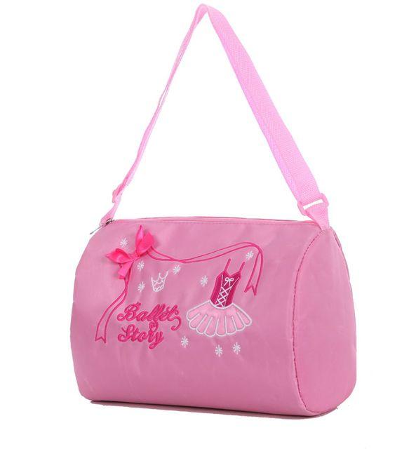 eb5324659c HLMFS crianças dança roupas acessórios Criança ballet rosa saco impermeável  mochila ballet traje do bailado ballet