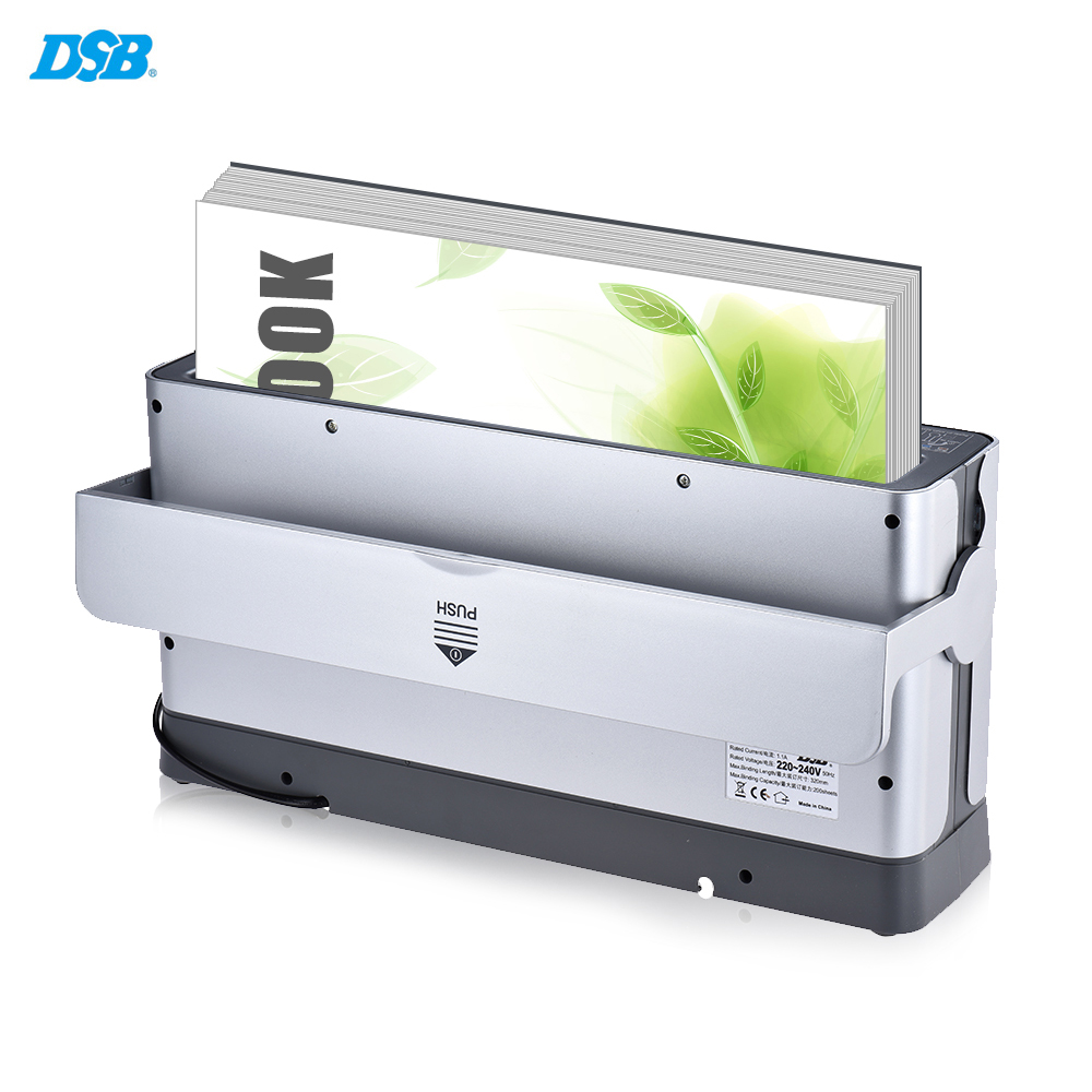 A4 Paper Book Thermal Binder Binding Machine Quick Binding Books Binding Machine Cooling Rack Dust-proof Cover Booklet Maker countryside magazine country kitchen – a project andidea book paper only