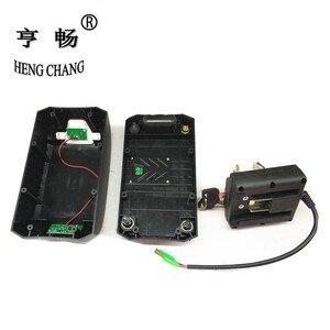 Image 4 - Чехол для аккумулятора 36 В, складной чехол для велосипеда с литиевым аккумулятором haibao, чехол для аккумулятора с дисплеем питания, задний светильник