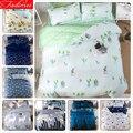 Зеленый Кактус рисунок 3/4 шт комплект постельного белья для детей и взрослых мягкий хлопок постельное белье один полный двойной королева ко...