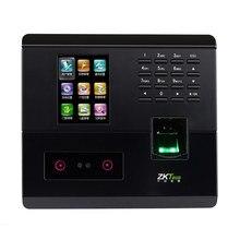 UF200 распознавание лица посещаемость времени zkteco биометрический контроль доступа 50000 Запись сетевой отпечаток пальца посещаемость