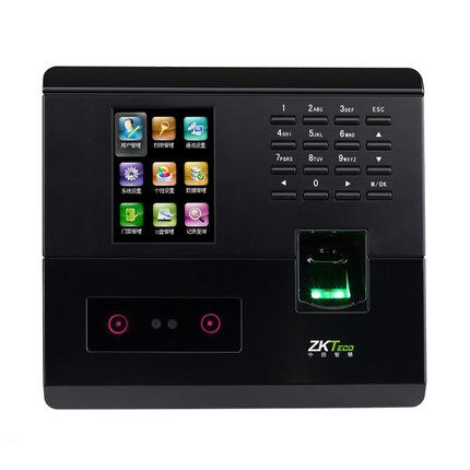 UF200 Face Recognition Time Attendance Zkteco Biometric Access Control 50,000 Record Network Fingerprint Attendance