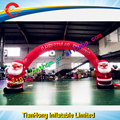 7m Santa claus inflatable arch / inflatable arch for christmas promotion