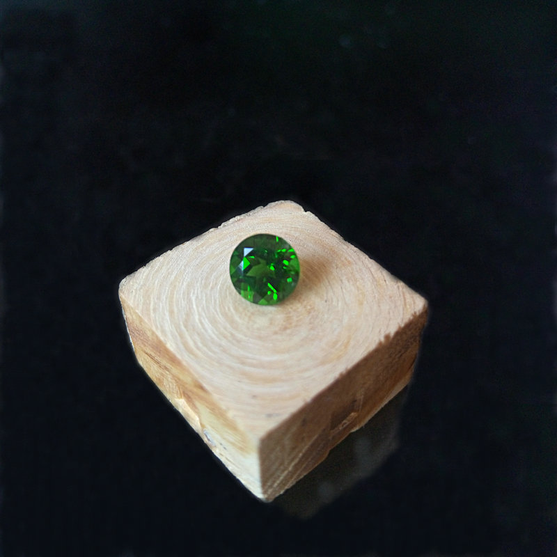 6mm diameter high quality natural diopside loose gemestone for pendant ring earring round cut loose gemstone loose