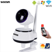 Sacam CCTV  Home Security  Wifi wireless IP Camera Pan/Tilt  HD 720p IR cut Night Vision with two-way audio  PTZ  Network webcam