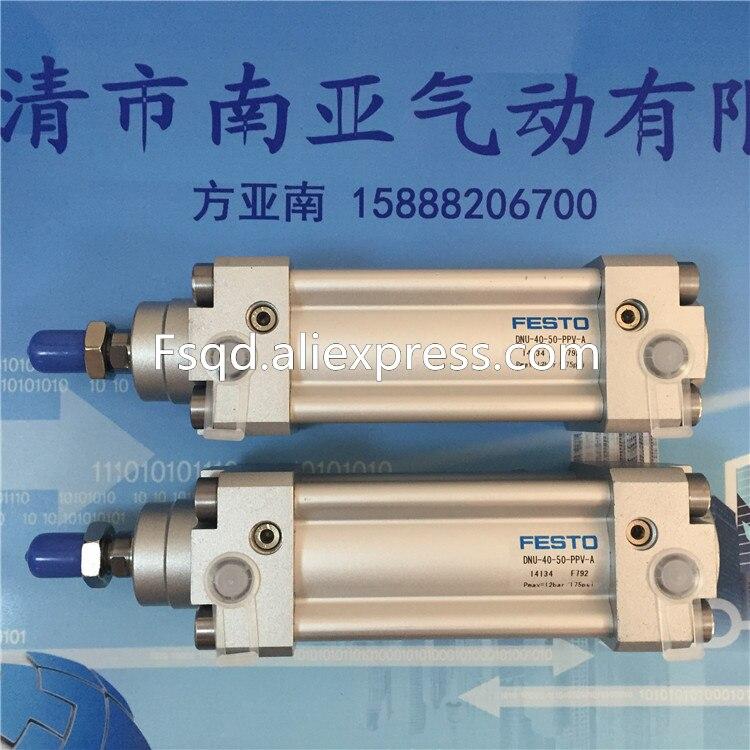 DNU-40-100/125/150-PPV-A FESTO standart silindir DNU serisiDNU-40-100/125/150-PPV-A FESTO standart silindir DNU serisi