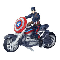 NEW Hot Avengers Super Hero Captain America Civil War Ride A Motorcycle Collectors Action Figure Toys