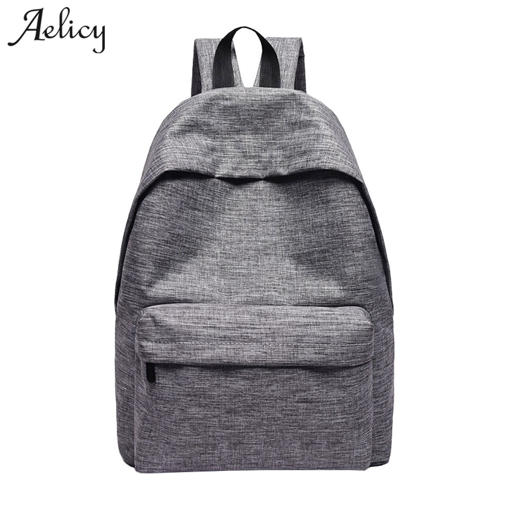 2018 New Women Canvas Backpacks Fashion Casual Teenager Girls Large Capacity Backpacks For Students Mochila Feminina 1013