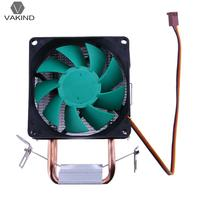Double Copper Heatpipe CPU Cooler Cooling Fan Heat Sink Computer Processor Heatsink Ventilador For Intel 775