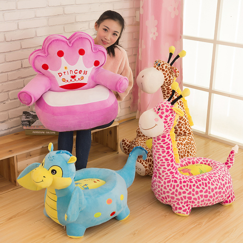 New Arrive Animals Toy Soft Plush Cusion Sofa Girafe Plush Toy Leisure Sofa Gift for Children Best Present new arrive good quanlity children s toy best gift