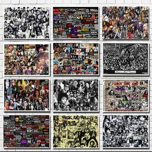 Rock and Roll Music Posters Fa