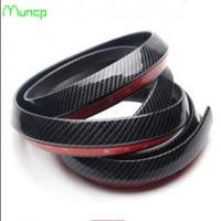 Muncp Car Styling Rubber Front Bumper Strips Guard Lip Body Kit Wrap Splitter Protector Stickers for BMW E46 E52 E53 E60 E90 F01