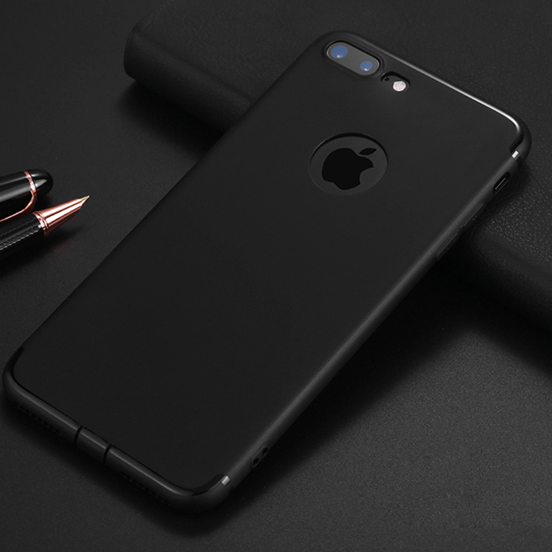 FERISING Ultra Thin Matte Transparent Phone Case For iPhone 5 5s 6 6s 7 8 Plus X 10 Phone Cover Capa (Can Choose with Cable)