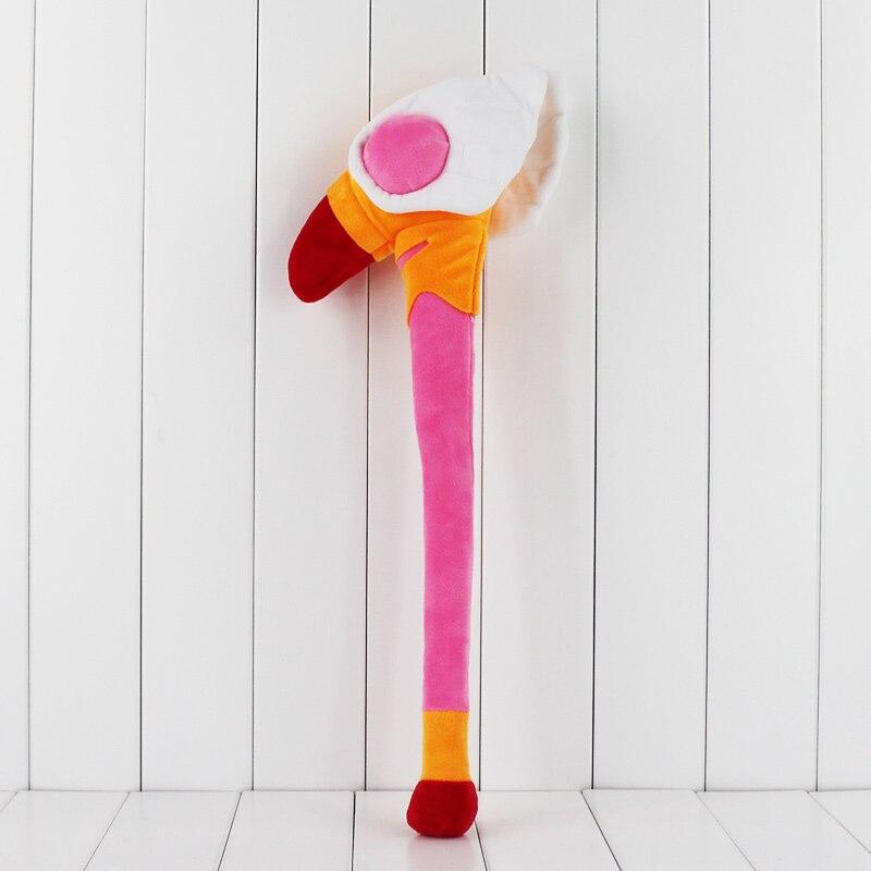 50cm CARDCAPTOR SAKURA Cardcaptor Sakura Magic Weapon Plush Toys Doll Kids Magic Wand toy